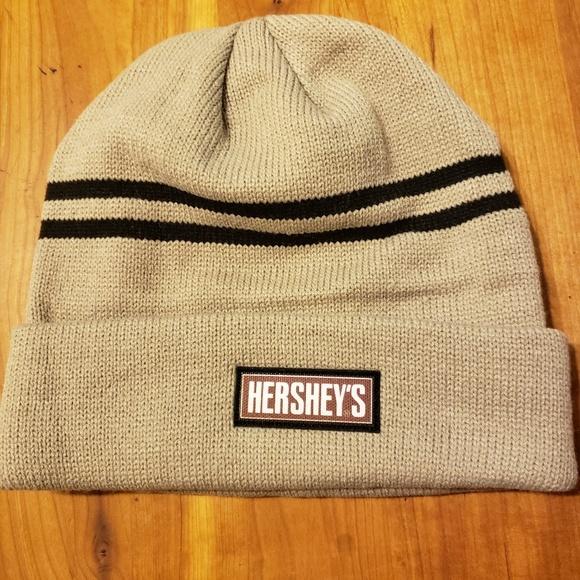 d2476035c HERSHEY'S Branded Toque (Beanie) | Khaki/Black NWT